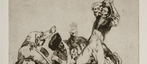 Goya's Disasters of War tells the story of all wars. [Image Source: Museo del Prado/Wikipedia Commons]