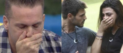 Grande Fratello Vip: Silvestrin piange per la madre morta, lite tra Francesco e Giulia