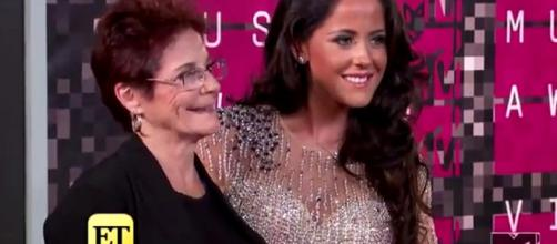 Jenelle Evans (on the right) underwent emergency surgery. [Image Source: Entertainment Tonight - YouTube]