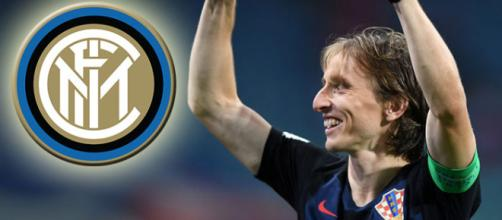 L'Inter continua a pensare a Luka Modric