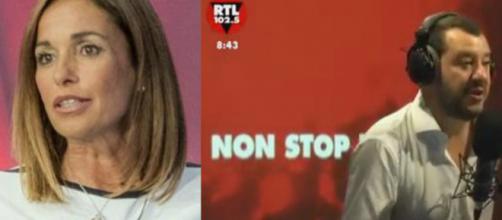 Matteo Salvini risponde a Cristina Parodi