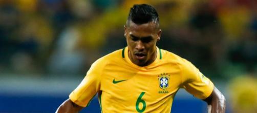 Primo gol con la maglia della nazionale brasiliana per Alex Sandro