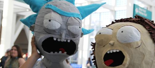 """""""Rick and Morty"""" cosplay (Image Credit: William Tung / Wikimedia)."""