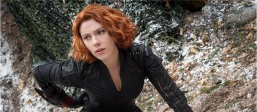 Scarlett Johansson is expected to make $15 million for her Black Widow solo film. - [Wochit Entertainment / YouTube screencap]