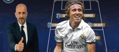 Spalletti cambia l'Inter con Modric.