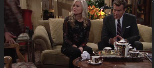 Ashley reveals Jack is an Abbot after all. [Image Source: The Young and the Restless-YouTube]
