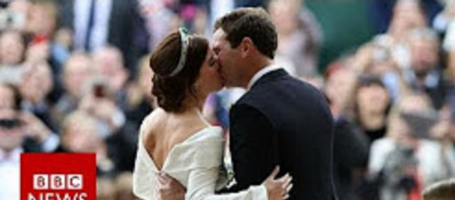 Princess Eugenie carries beautiful message on the beauty of scars in stunning wedding gown