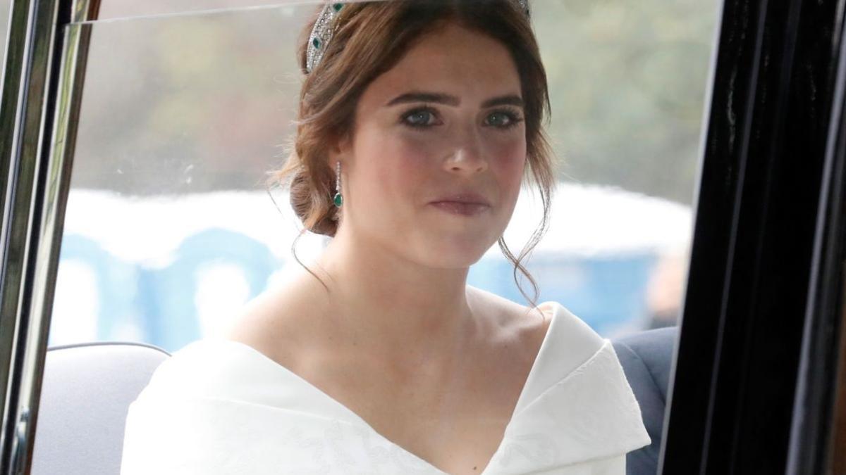 65c8ef4bc91f Matrimonio Eugenie di York  un tocco italiano per il suo abito di nozze