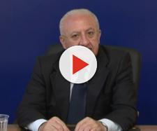 Vincenzo De Luca scatenato contro Danilo Toninelli su Lira Tv