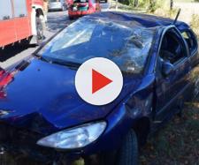 Zwei Personen wurden bei dem Unfall verletzt. Foto: rn-aktuell.de