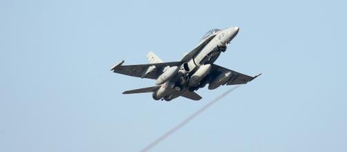 Los F-18 parten a Noruega, Base de Bodo, al ejercicio Trident Juncture