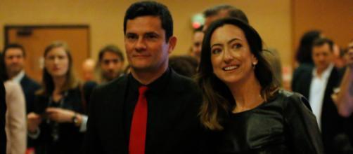 Mulher de Moro, Rosângela Moro em evento com o marido