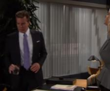 Jack and Ashley may not find closure before she leaves Genoa City. [Image Source:The Emmy Awards-YouTube]