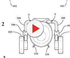 Immagini del concept di auto volante presentato da Toyota.