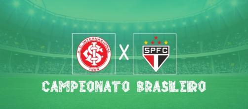 O Inter ocupa o terceiro lugar do Brasileirão e o São Paulo vem logo atrás, em quarto