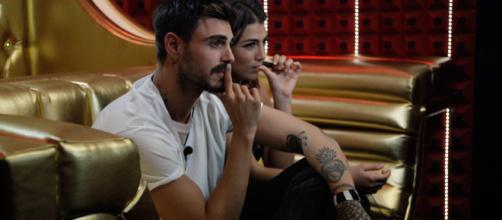 GF Vip 3: Francesco Monte e Giulia Salemi continuano a litigare.