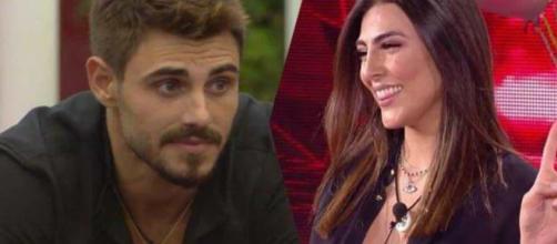 Gossip, Francesco Monte 'gela' la Salemi: 'Non voglio passare per il tuo fidanzatino'.