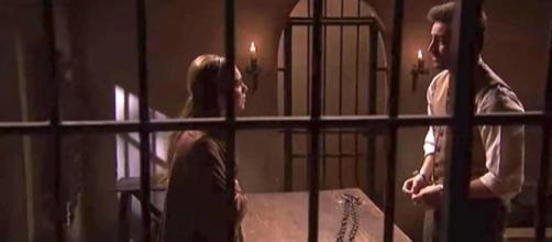 Il Segreto, anticipazioni: Saul si fa arrestare per salvare Julieta dal carcere