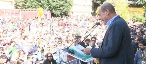 Nicola Zingaretti riunisce oltre tremila persone a 'Piazza Grande'