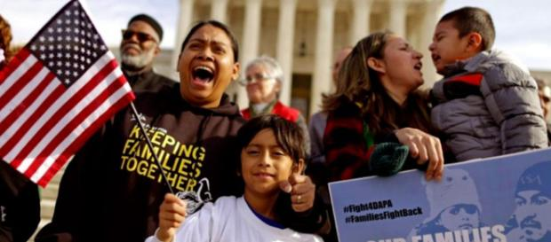 Residentes latinos de EEUU piden poner fin a política de separación familiar. - com.ar