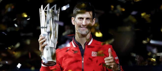 Tennis : Djokovic remporte le tournoi de Shanghaï et retrouve la seconde place mondiale