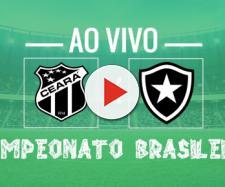 Ao vivo: Ceará x Botafogo hoje