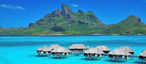 A ilha de Bora Bora é um dos destinos mais procurados para celebrar a lua-de-mel.