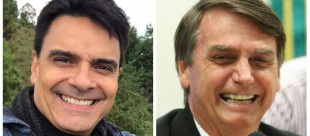 Ex-ator da Rede Globo defende candidato