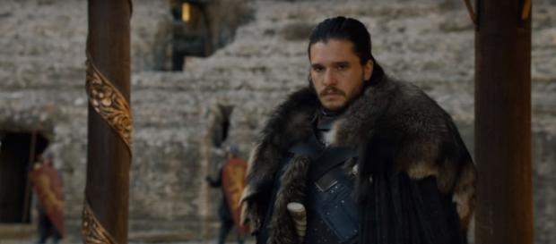 Jon Snow's final sacrifice could give Game of Thrones a bittersweet ending [image source: TheCell8 - YouTube]