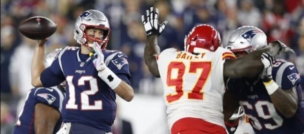 Patriots ganaron una balacera épica contra los Chiefs. - radio.com