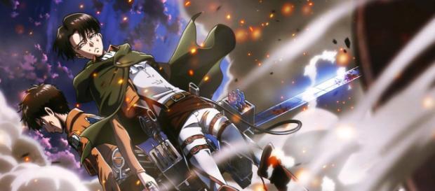 Protagonistas de Shingeki No Kyojin: Eren y Levi