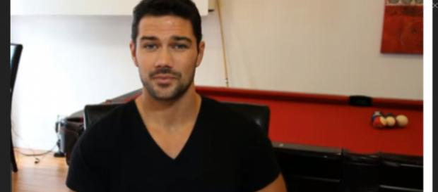 Ryan Paevey would return to General Hospital as Nathan;s ghost. (Image SOurce: Runway TV-YouTube.)