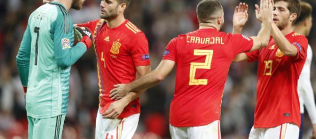 Spain won at Wembley for 1-2 - bostonherald.com