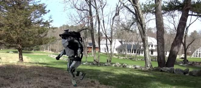 Atlas, il primo robot in grado di fare parkour