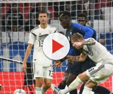 France vs Germany live streaming on Sky Sports (Image via Sky Sports screencap)
