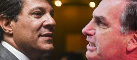Haddad e Bolsonaro discutem feio no Twittter
