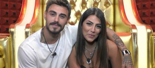Gf Vip 3, Giulia salemi confessa a Francesco Monte: 'ho baciato Jeremias'