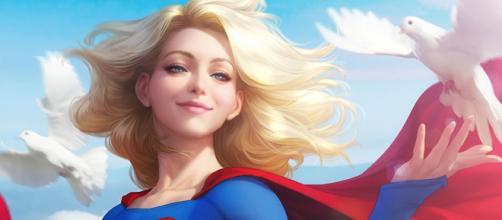 Kara Zor-El, mais conhecida como Supergirl.