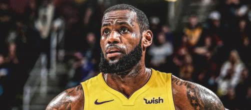 LeBron se junta aos Lakers nesta temporada.