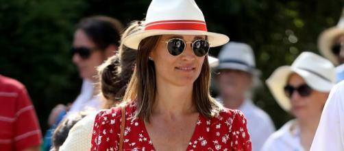 Pippa Middleton red vestito rosso