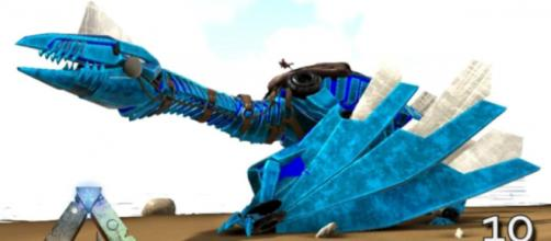 The Tek Quetz in one of DMAC's 'ARK' episodes. - [KingDaddyDMAC / YouTube screencap]