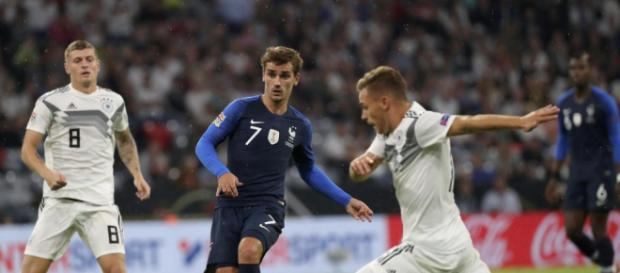 Flop avant match France-Allemagne