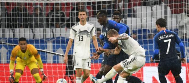 France vs Germany live streaming on Sky Sports (Image via Sky Sports screencap)
