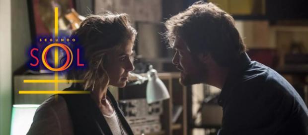 Luzia revela a Beto a verdade sobre Valentim