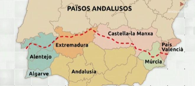 Reivindican la idea de unos 'Países Andaluces' en un programa de TV3