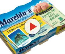Tonno Mareblu ritirato dai supermercati per imballaggio non conforme.