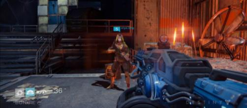 D1's E3 demo showing the Thunderlord. [Image source: destinygame/YouTube]