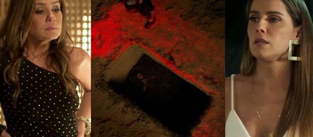 Laureta enterrará Karola viva, assim como Carminha fez com Nina.