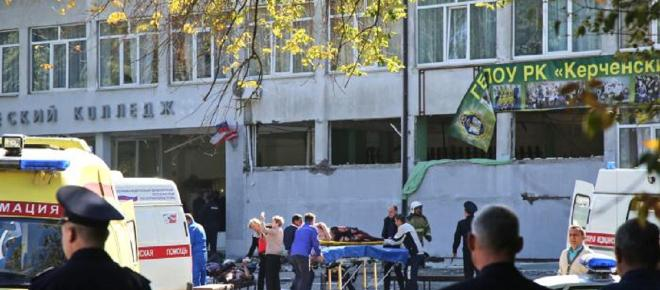 Ataque a bomba e tiros deixa mortos em faculdade na Crimeia