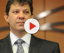 Haddad acusa Sérgio Moro de cometer erro na sentença de Lula. (foto reprodução).